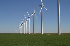 Wind Power Farm in Texas